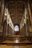 Chester Cathedral-binnenland, Engeland royalty-vrije stock afbeeldingen