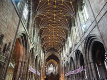 Chester Cathedral in Chester royalty-vrije stock foto's