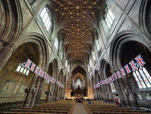 Chester Cathedral in Chester royalty-vrije stock afbeeldingen