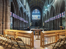 Chester Cathedral in Chester royalty-vrije stock fotografie