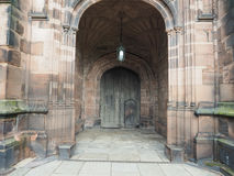 Chester Cathedral in Chester Stock Images