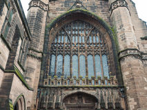 Chester Cathedral in Chester Stock Photos