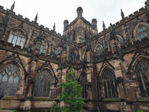 Chester Cathedral in Chester Stock Photo