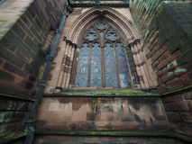 Chester Cathedral in Chester Stock Image
