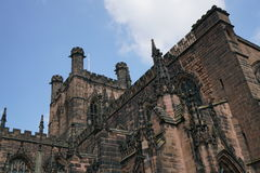 Chester Cathedral, Chester het UK stock foto