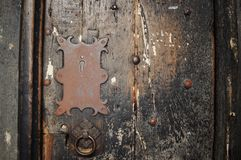 Chester cathedral door old royalty free stock images
