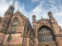Chester cathedral in England Royalty Free Stock Photography