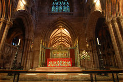 Chester Cathedral Interior Stock Images