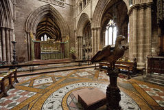 Chester Cathedral Interior Royalty-vrije Stock Afbeelding