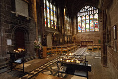 Chester Cathedral Interior Royalty Free Stock Photo