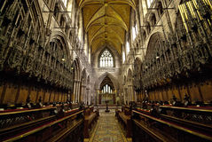 Chester Cathedral Interior Stock Photography