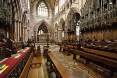 Chester Cathedral Interior Royalty Free Stock Image