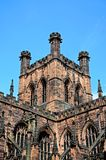 Chester Cathedral-toren stock afbeelding
