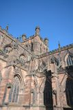 Chester cathedral, Uk. Chester cathedral in Cheshire, England on a sunny day Royalty Free Stock Image
