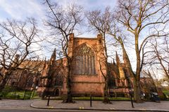Chester Cathedral Uk royalty-vrije stock foto