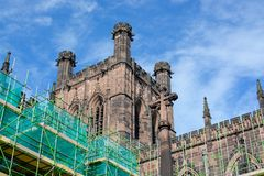 Chester Cathedral, Uk Royalty Free Stock Photos