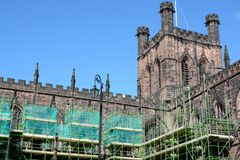 Chester Cathedral, Uk Stock Photos