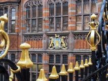 CHESTER CHESHIRE /UK - 16 DE SETEMBRO: Arquitetura velha em Chester foto de stock royalty free