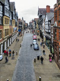 CHESTER, CHESHIRE/UK - OCTOBER 10 : Chester City Centre in Chesh Stock Photo
