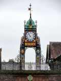 CHESTER, CHESHIRE/UK - OCTOBER 10 : Chester City Centre Clock in Stock Image
