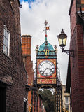 CHESTER CHESHIRE/UK - SEPTEMBER 16 : Victorian City Clock in Che Stock Photos