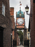 CHESTER CHESHIRE/UK - SEPTEMBER 16 : Victorian City Clock in Che Stock Images