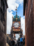 CHESTER CHESHIRE/UK - SEPTEMBER 16 : Victorian City Clock in Che Royalty Free Stock Images