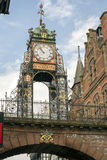 Chester ścian zegar Zdjęcia Royalty Free