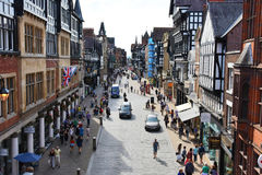 Chester city Royalty Free Stock Images