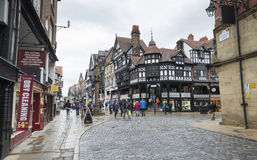 Chester city centre Royalty Free Stock Photo