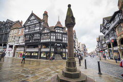 Chester city centre Stock Photo
