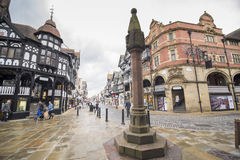 Chester city centre Stock Photos