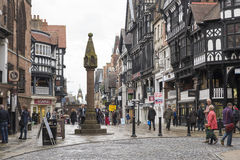 Chester city centre Stock Image