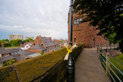 Chester city in England Stock Photography