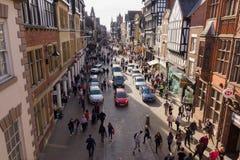 Chester City England stock photos