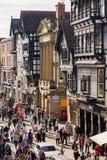 Chester City England Stock Photo