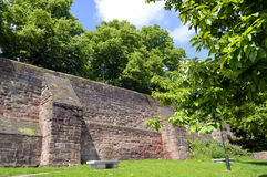 Chester City wall Royalty Free Stock Photography