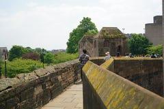 Chester City-Wand stockbild