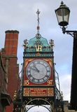 Chester Clock Tower royalty-vrije stock afbeelding
