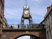 Chester Clocktower. Royalty-vrije Stock Foto