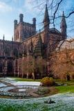 Chester domkyrka, England arkivbilder