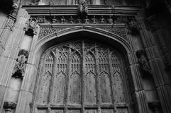 Chester domkyrkaingång Royaltyfri Bild