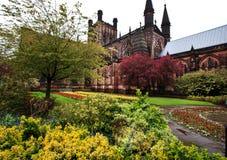 Chester Katedralny Cheshire Anglia UK Obraz Royalty Free