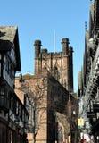 Chester-Kathedrale, Großbritannien Stockbild