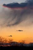 chester län över pa-solnedgångar Royaltyfri Bild