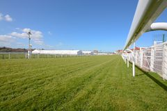 Chester race course. Cheshire on a sunny day Stock Photos