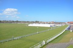 Chester race course. Cheshire on a sunny day Stock Images