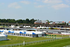 Chester race course. On a hot summers day Royalty Free Stock Image