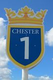 Chester race course sign Stock Images