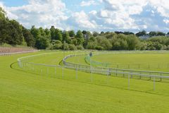 Chester race course Stock Photo